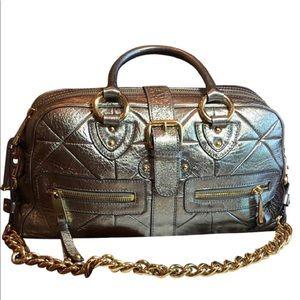 Marc Jacobs Venetia Gunmetal shoulder bag